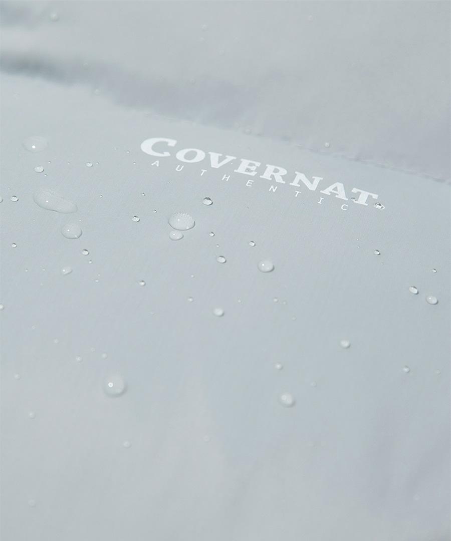 커버낫(COVERNAT) 20FW RDS 덕다운 숏 패딩 점퍼 쿨그레이