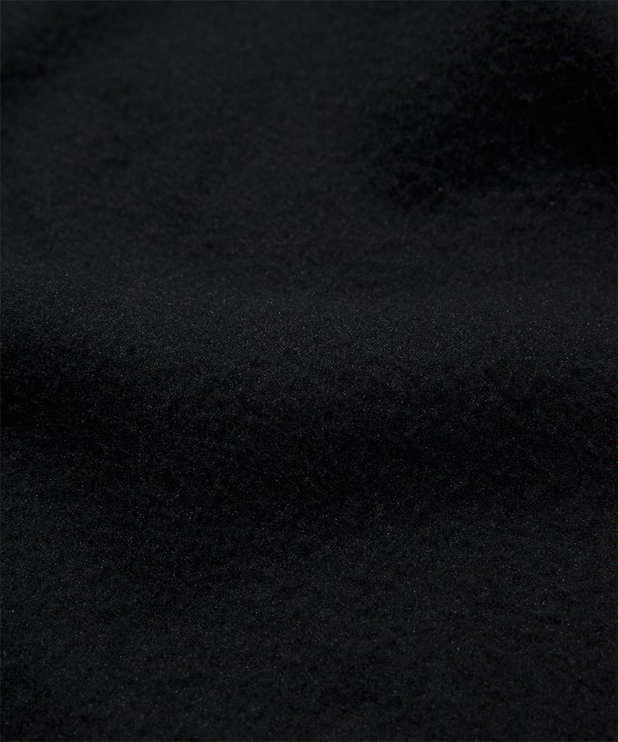 커버낫(COVERNAT) 플리스 집업 자켓 블랙