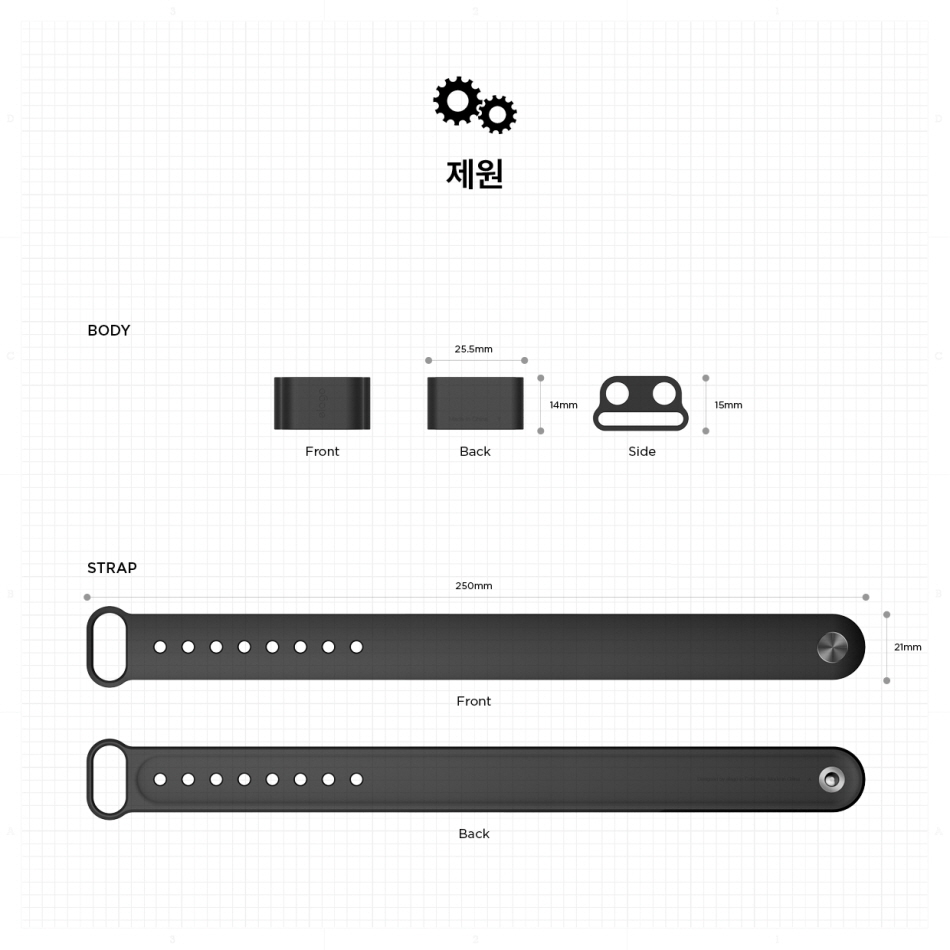 엘라고(ELAGO) 애플워치 전용 에어팟 분실방지 홀더