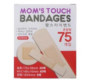 맘스 터치밴드(75개입)