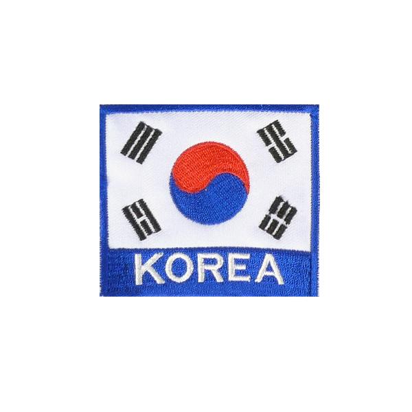 KOREA 벨크로 태극기 컬러