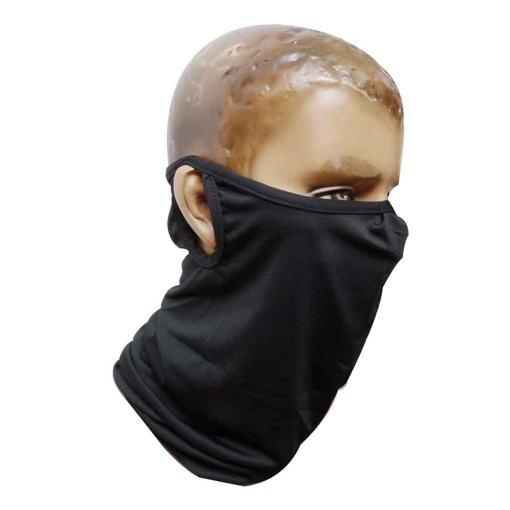 검정 귀걸이 멀티스카프(군인용)