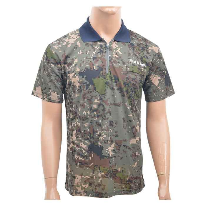 육해공군 넥카라 반팔티셔츠